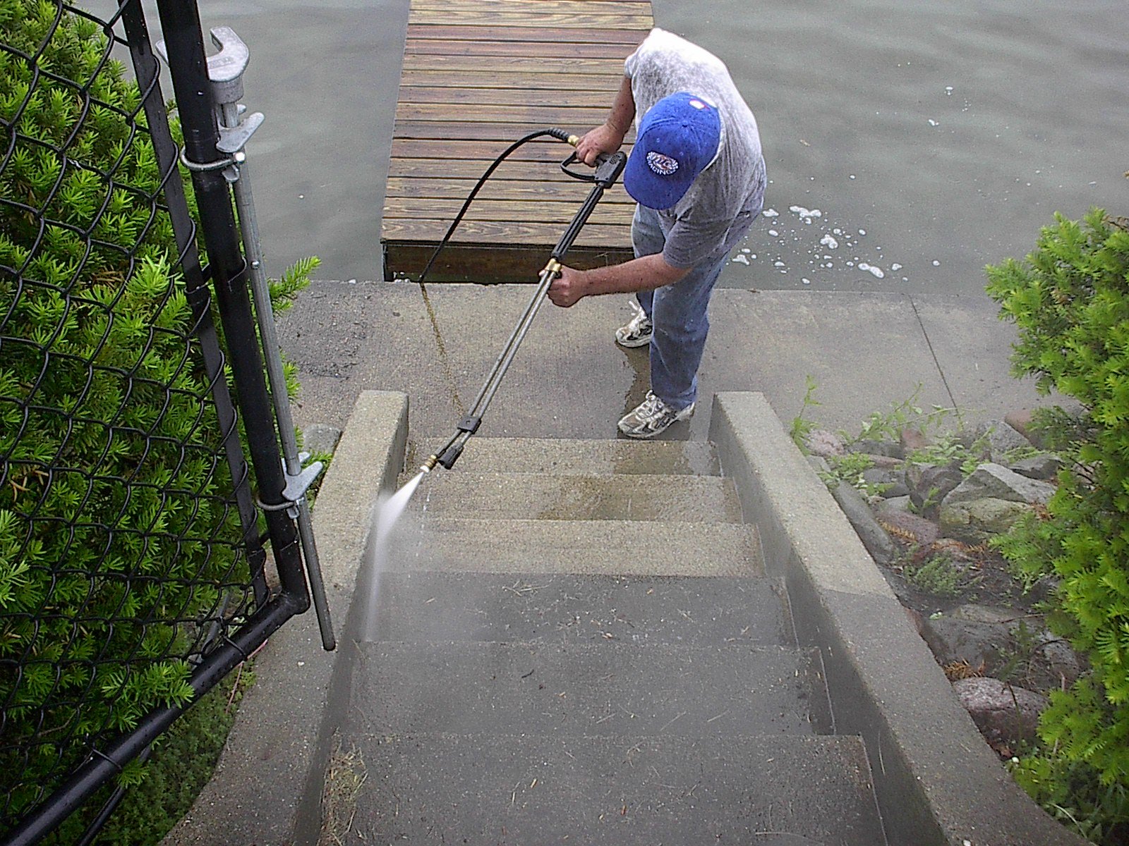 When curb appeal is the goal, start from the ground! Home Team Power Clean is Michigan's supplier of driveway and sidewalk cleaning services that keep your property on point.